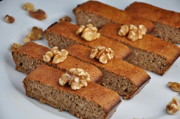 Jednoduchý ořechový koláč