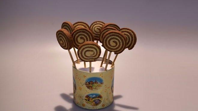 Lollykoekjes. Ook leuk in andere kleurtjes met kleurstof