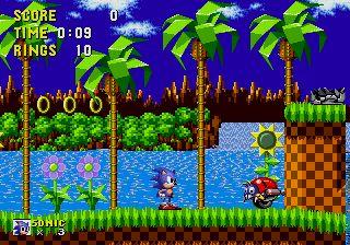 Sega.. Sonic the hedgehog