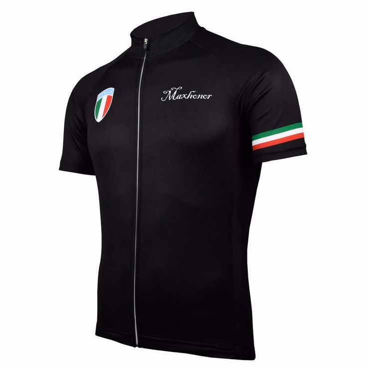 Classic Italia Black Cycling Jersey – Online Cycling Gear