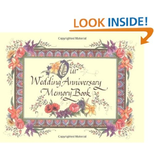 Wedding anniversary memory book want pinterest