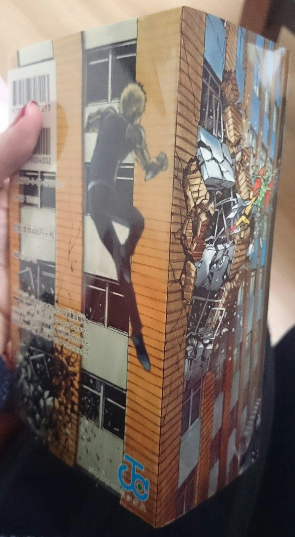 One Punch Man Manga Cover Is 3d One Punch Man Saves