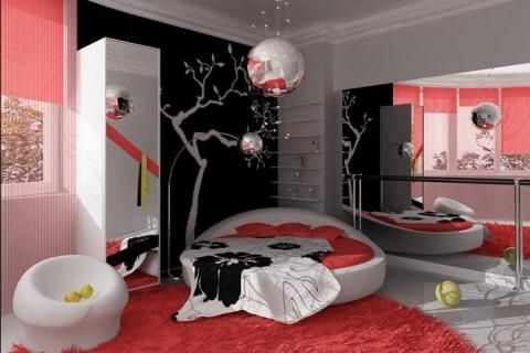 Оформление комнаты подростка с помощью зеркал
