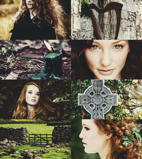 """""""Brighid is the Celtic Saint and Goddess of Poetry, Healing and Smithcraft. She has been worshiped by the Celtic people as a Saint for over fifteen..."""