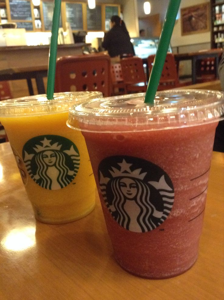 Mango and Ras Berry From Starbucks Coffee
