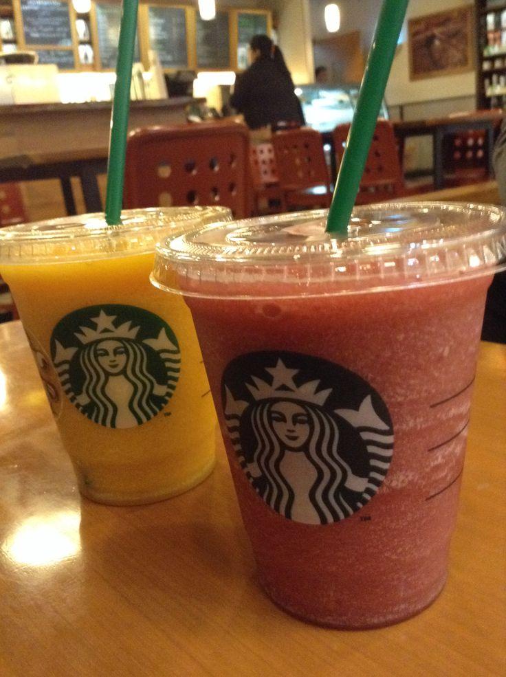 Mango and Ras Berry From Starbucks Coffee