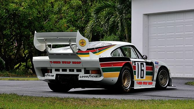 1977 Porsche 934.5/935 IMSA Swap Shop 3rd Overall at The 1981 12 Hours of Sebring presented as lot S175 at Monterey, CA 2014 - image3