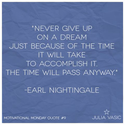Motivational Quote of the Week 9! Pinned because I thought it was  good motivational quote, not really along the lines of intrinsic motivation, but good to remember when wanting to motivate yourself.