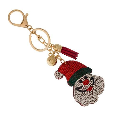 Santa Claus Key Chain Christmas Key Chain Gift Suggestions Boutique