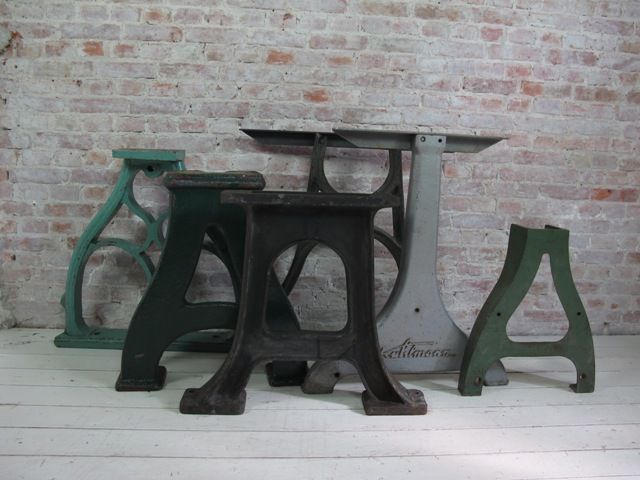 Gietijzeren Tafel Onderstel : Onderstel tafel steel industrial table cast iron table base