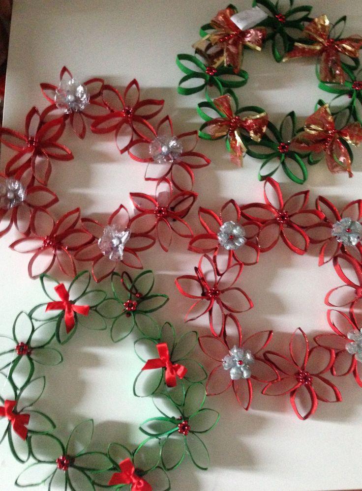 Oltre 25 fantastiche idee su ghirlande di carta su for Ghirlande natalizie di carta