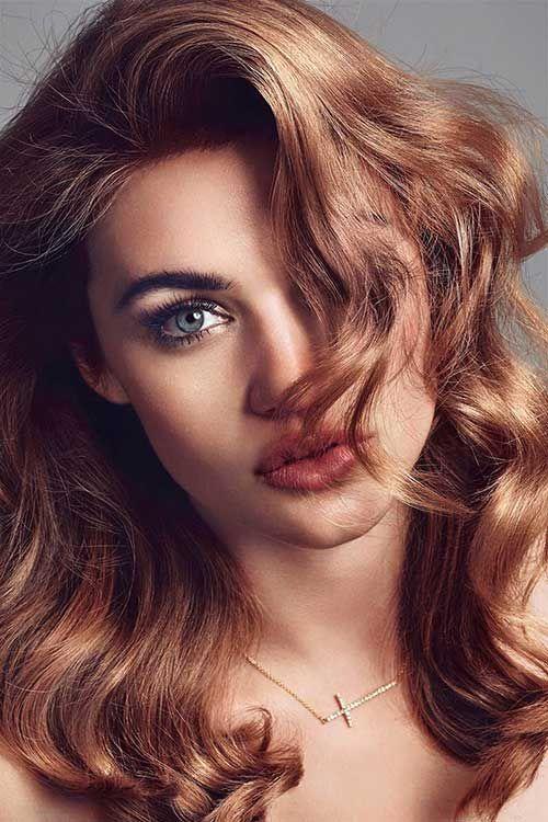 Bronze Hair Color Idea                                                                                                                                                      More