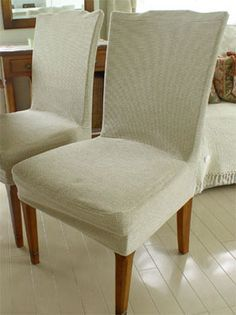 ティント・アンド・トォーン/椅子カバー型取りの仕方、作り方 クラッシックスタイルのダイニング椅子。藤張りで背頭が彎曲し、お客様もカバーできるのかご心配でした。