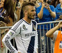 David Beckham, LA Galaxy Soccer Team