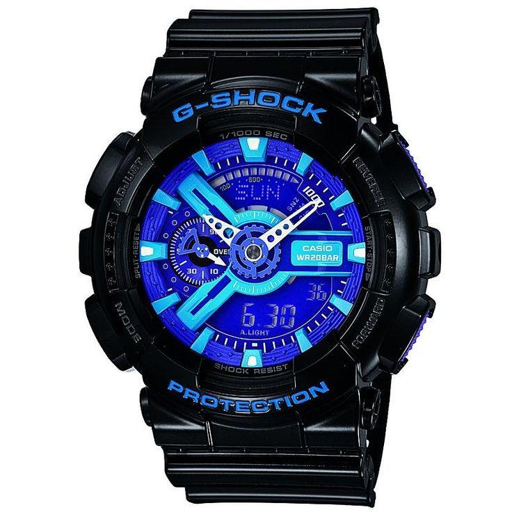 blue G shock