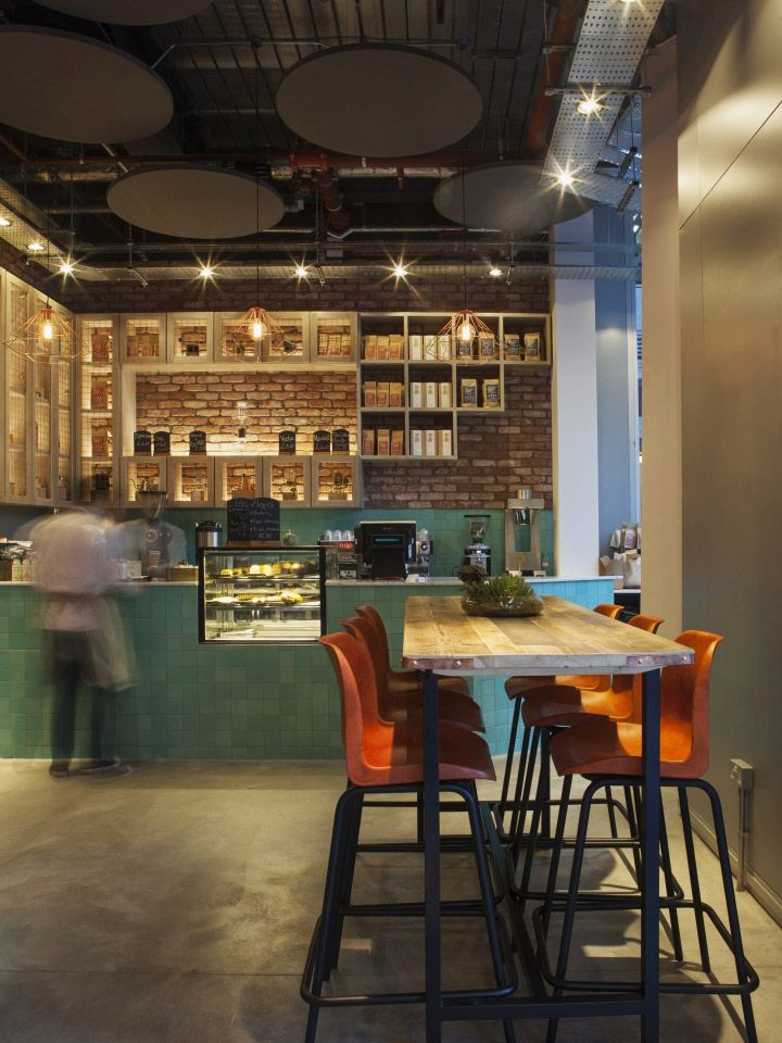Kupp caf by designlsm london uk retail design blog for Retail interior design agency london