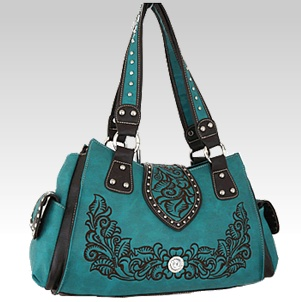 Turquoise Western Purse $49.99