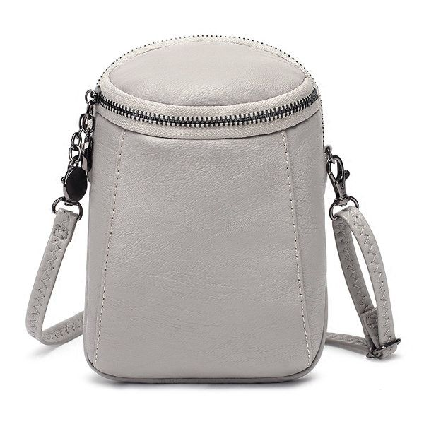Hot-sale designer Woman Round Little Phone Bag Casual PU Crossbody Bag Bucket Ba…