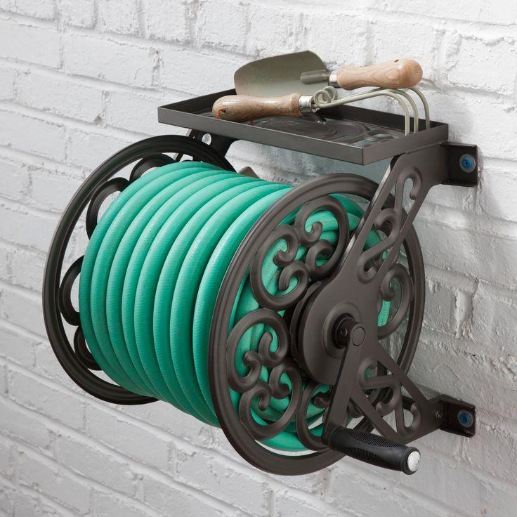 Decorative hose reel