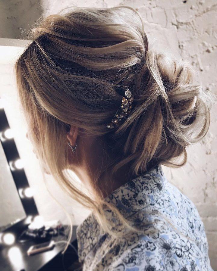 Best 25 Messy Wedding Hairstyles Ideas On Pinterest