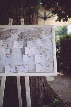 Matrimonio ispirato ai viaggi