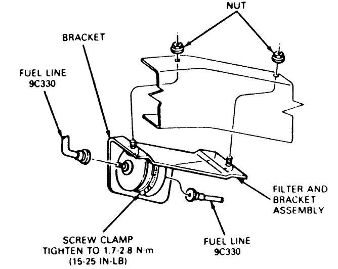 Bronco Ii Fuel Filter