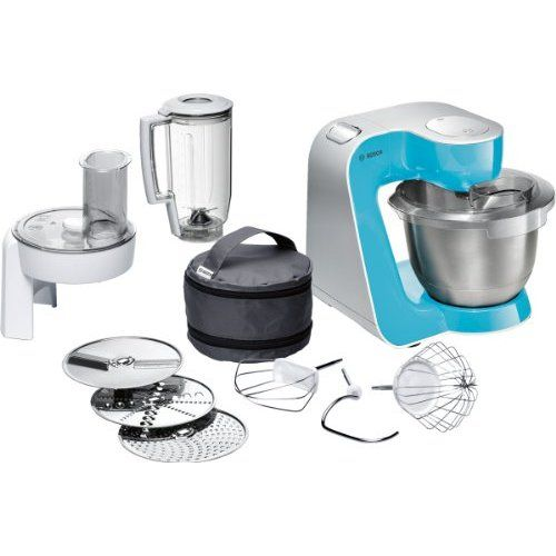Bosch MUM4825 Küchenmaschine (600 Watt, Kunststoff-Rührschüssel