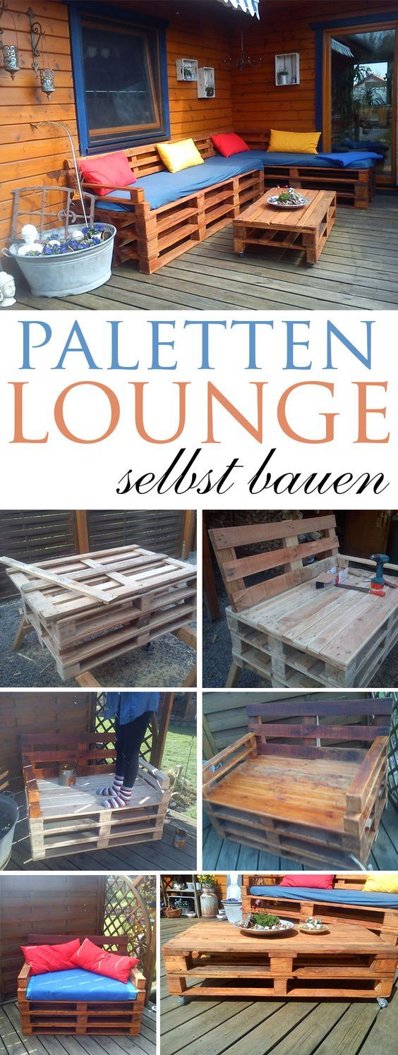 die 25 besten ideen zu paletten lounge auf pinterest lounge sofa outdoor paletten couch und. Black Bedroom Furniture Sets. Home Design Ideas