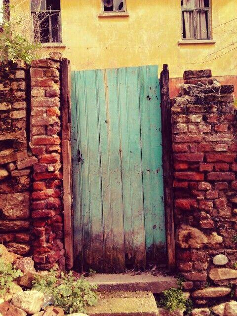 Door - blue