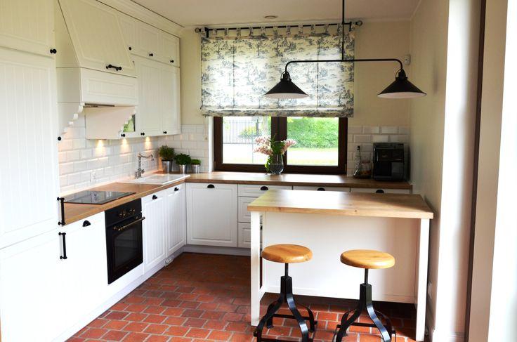 English style kitchen. Kuchnia w stylu angielskim