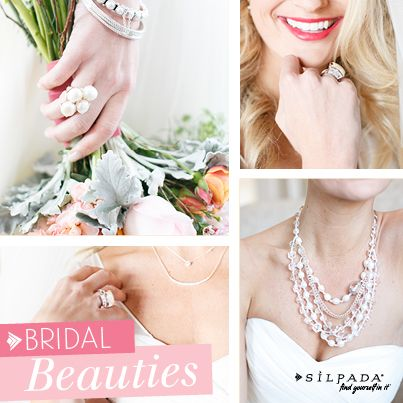 Add #jewelry for the finishing touch on your #wedding style