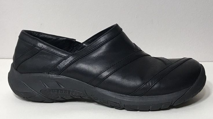 Merrell Encore Eclipse 2 Shoes Womens Sz 9.5 Black J46732 Work Uniform  | eBay