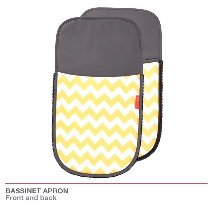 Redsbaby Bounce - The Utlimate All-In-One Stroller/ Pram www.redsbaby.com.au The bassinet apron provides protection for your newborn when in the bassinet, while also adding a little chevron style to your pram!