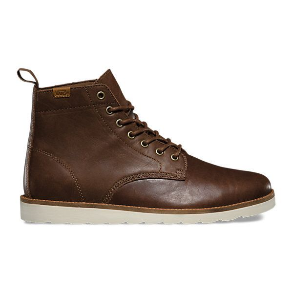 Sahara Boot (£91) ❤ liked on Polyvore featuring men's fashion, men's shoes, men's boots, leather brown, mens brown shoes, mens leather boots, mens brown leather boots, mens brown boots and mens brown leather shoes