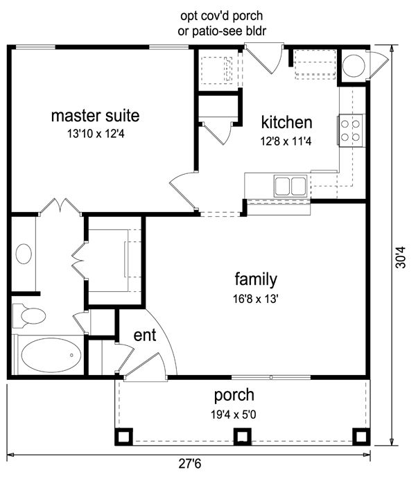 Cottage Craftsman House Plan 69937. Best 25  1 bedroom house plans ideas on Pinterest   Guest cottage