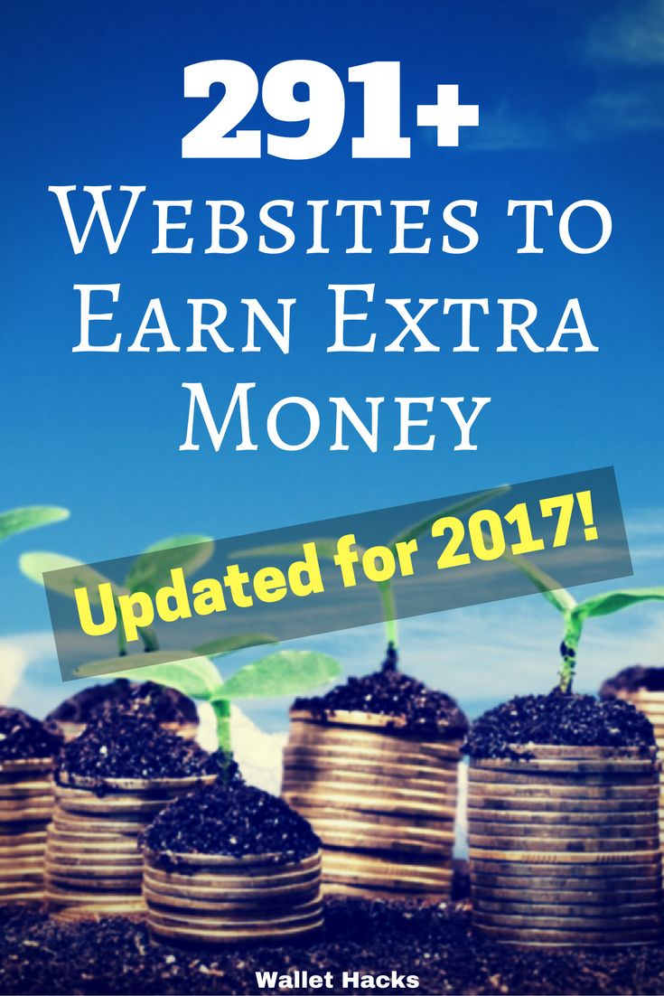 Need money NOW? This list of almost 300 websites will have plenty of sites you can earn easy side cash. Updated and verified legitimate monthly.