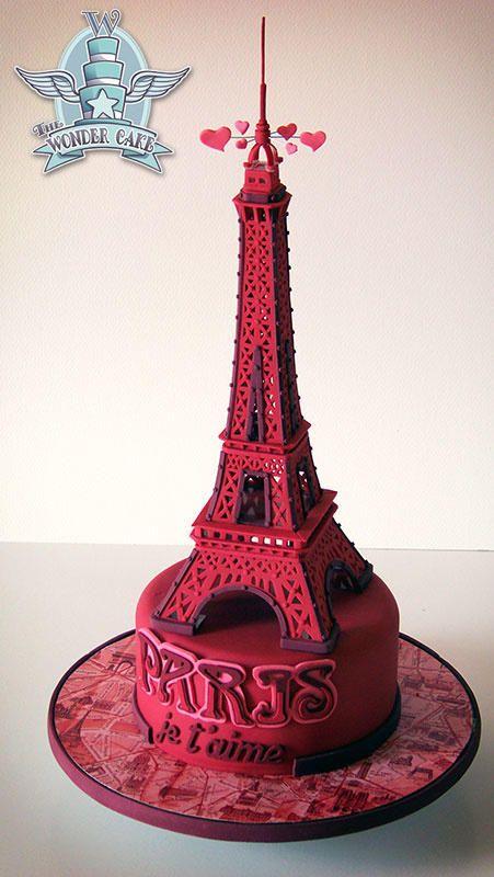 PARIS je t'aime by The Wonder Cake
