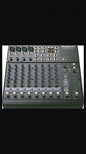 Mixer mackie 1202-vlz pro