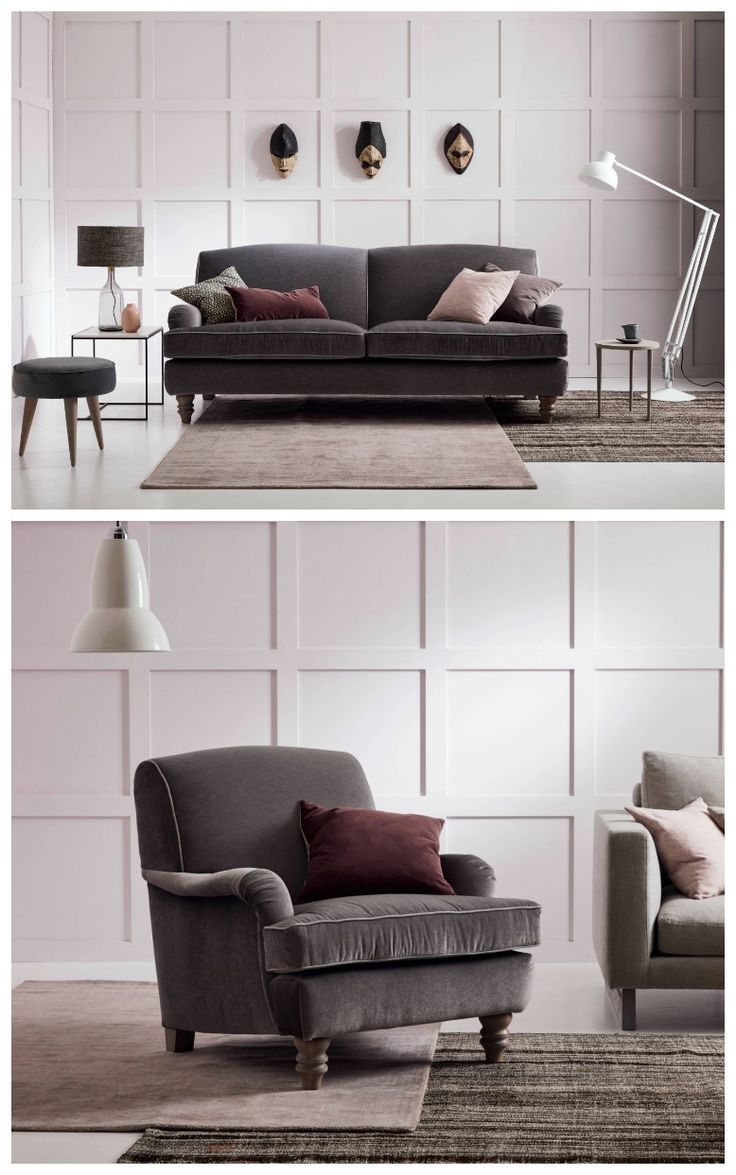 MODERN SOFA INSPIRATION/ Eliza Armchair - This classic sofa design is our best selling sofa with co-ordinating classic chair design. Whilst its design is traditional it effortlessly sits in a contemporary interior and can be tailored to your specifications and design. love-your-home.co.uk