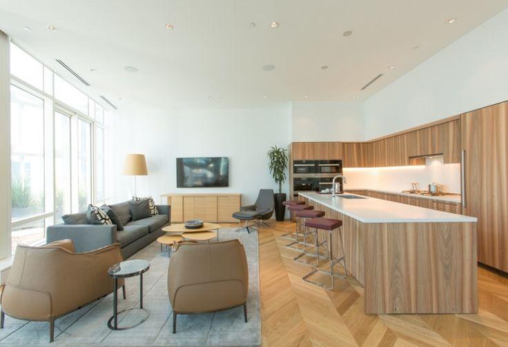 Boffi Design Kitchen in Shangri-La Toronto Penthouse