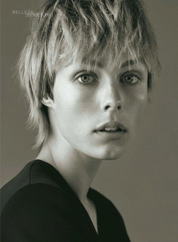 Short cut (Edie Campbell for S Moda December 2014 by Santiago & Mauricio)