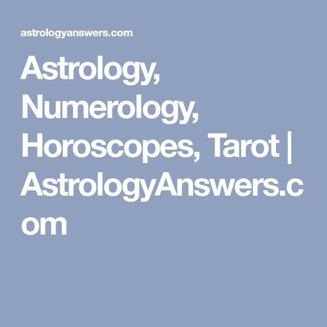 Astrology, Numerology, Horoscopes, Tarot   AstrologyAnswers.com