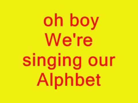 """Our kids LOVE this song! We sing it at song circle time. You will notice the author mispelled """"alphabet."""" LOL"""