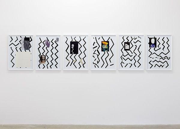 "Zin Taylor, ""The Tangental Zigzag"" at Kunstraum, London, 2014"