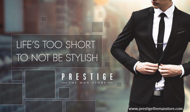Make a statement #PrestigeTheManStore http://bit.ly/2cvH9tO