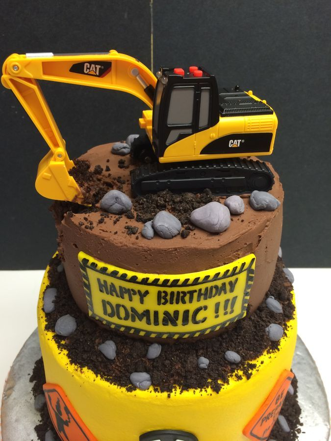 digger cake template - 259 best cakes construction images on pinterest
