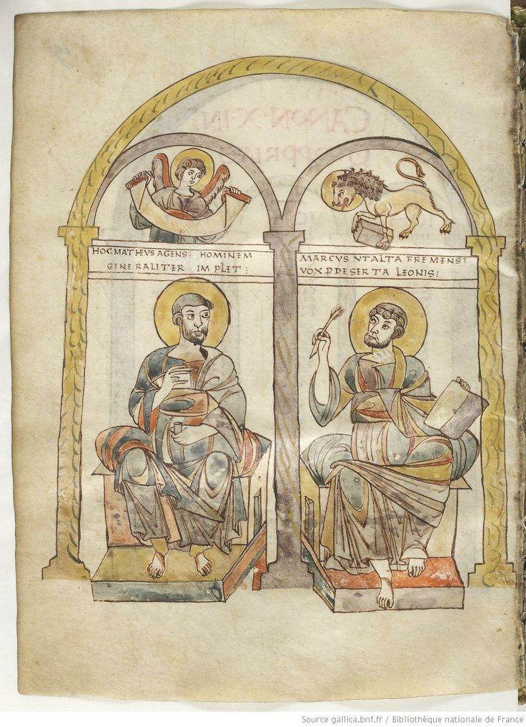 Evangelia quattuor (f. 5r-184r). Capitulare evangeliorum (f. 185r-201r). Date d'édition : 0816-0830 Contributeur : Louis le Pieux Contributeur : Saint-Pierre-des-Fossés Contributeur : Saint-Maur-sur-Loire Contributeur : Glanfeuil Contributeur : Rorigon Type : manuscrit Langue : Latin