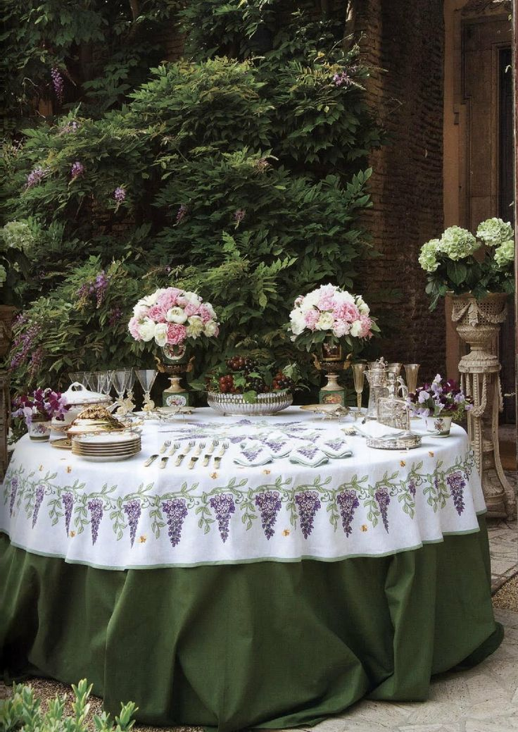 673 best entertaining the buffet images on pinterest for Garden tea party table decorations