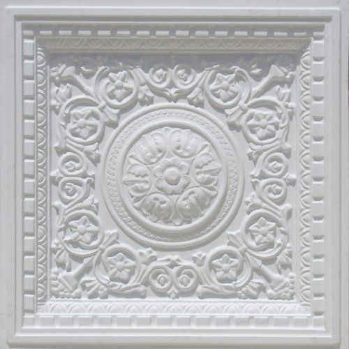 Discount Decorative White Plastic Ceiling Tiles Ul Rated Vc 2 24 X24 Quo
