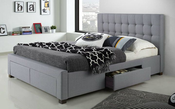 Save on the Alessandria Queen Storage Bed Frame - Grey and a wide range of  products at Beds Online